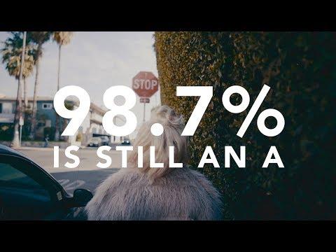 98.7% Is Still an A