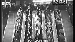 NYC'S PORT AUTHORITY BUS TERMINAL OPENS - 1950