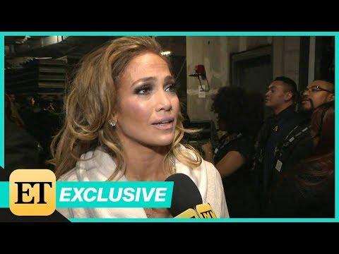 Watch Jennifer Lopez Tear Up Backstage After GRAMMYs Motown Tribute (Exclusive)