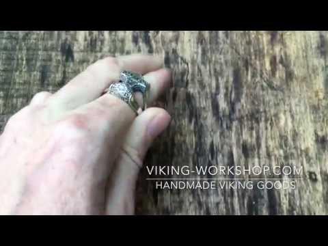 Thors Hammer Ring Handmade Viking Jewelry | Viking Workshop