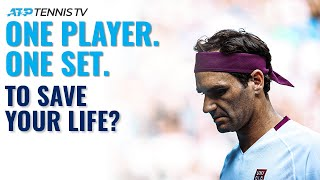 ATP Stars Pick One Player to Win One Set to Save Their Life!