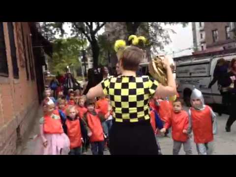 Minor Mishap at Maple Street School Honk! NYC 2013