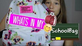 WHAT`S IN MY SCHOOLBAG? | Maya Aleyna (deutsch)