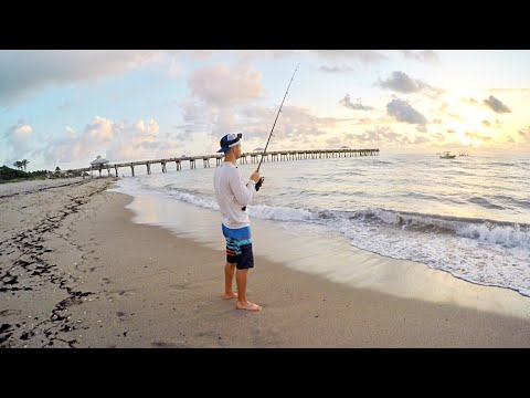How To Catch Snook From The Beach In 3 Easy Steps! (Tutorial)
