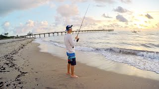 How To Catch Snook from the Beach - It's EASY!! (Tutorial)