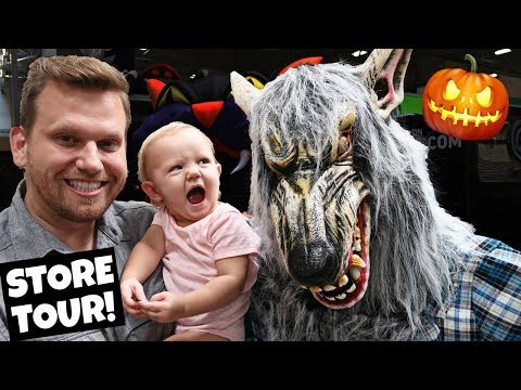 Halloween shopping trip and store tour 2018!