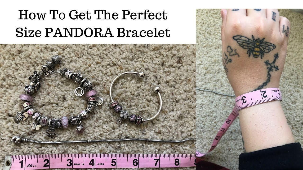Pandora Finding The Right Size Bracelet For Your Wrist How To Get The Perfect Size For You Youtube