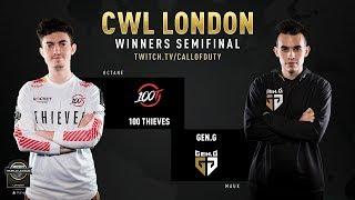 100 Thieves vs Gen.G   CWL London 2019   Day 2