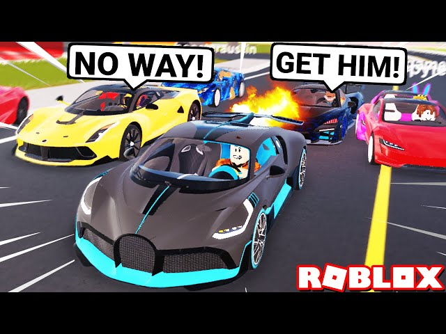 My Super Cars In Roblox Vehicle Tycoon Marks Motos Super Car Owners Race My 6m Rare Bugatti Divo Roblox Vehicle Legends Youtube