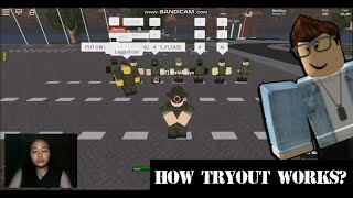 USAF Roblox Journey: How Tryout works? | #RishiPlaysGaming