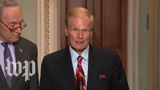 Schumer and Nelson deliver a statement on Florida recount process thumbnail