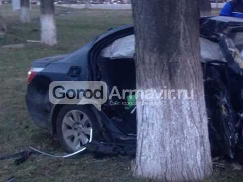 В Армавире нарушение скоростного режима стало причиной  череды серьезных аварий