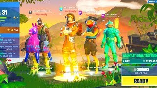 We created the UGLIEST squad ever in Fortnite... (WORST Fortnite skins)