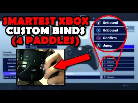 BEST Xbox Elite BINDS/ LAYOUT (4 Paddles) Fortnite Battle Royale