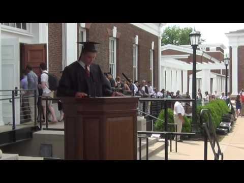 University of Virginia Economics Graduation 2015