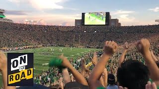 Michigan vs. Notre Dame: Live the gameday fan experience I NBC Sports