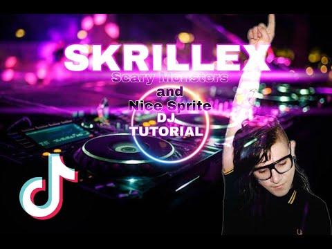 dj-skrillex---scary-monsters-and-nice-sprites- -full-bass- -tiktok-2021- -dj-tutorial-remix