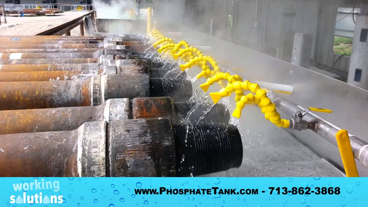 Do You Need Flow Coating Zinc Phosphate Tanks? Working