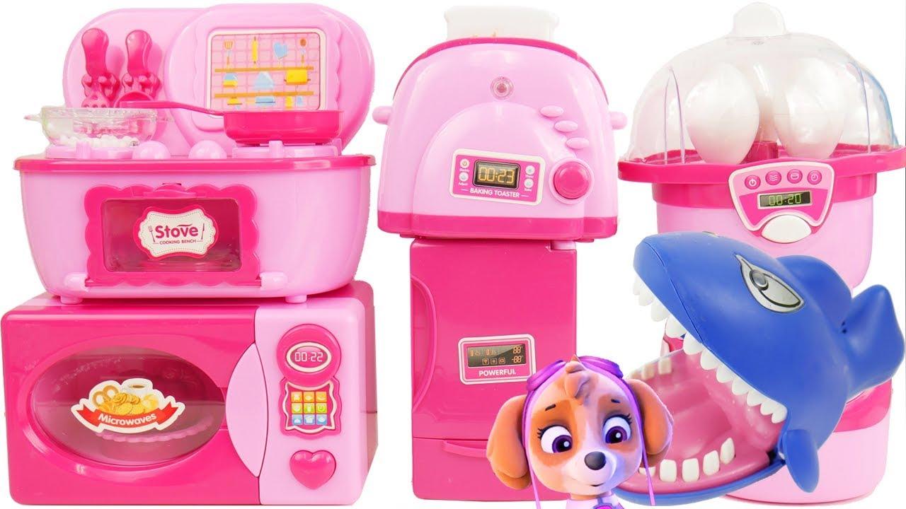 New Kitchen Toys For Paw Patrol Skye Youtube