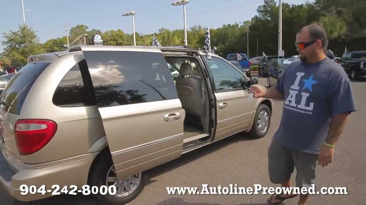 autoline 39 s 2005 chrysler town country limited walk. Black Bedroom Furniture Sets. Home Design Ideas