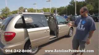 Autoline's 2005 Chrysler Town & Country Limited Walk Around Review Test Drive