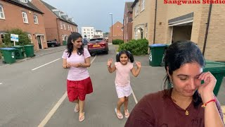 Sonia got Injured today while playing | Indian family Vlogs from England| The Sangwan Family