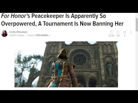 For Honor: Keeping The Peace (Ft: All You Can Bleed - Powerwolf)