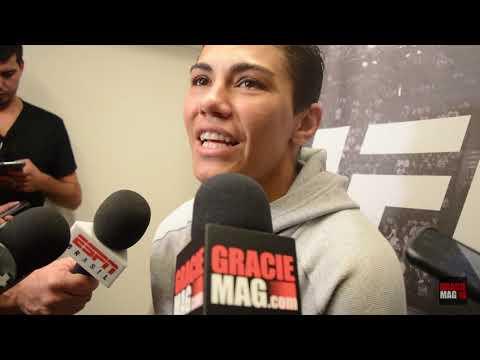 Campeã do UFC, Jéssica Bate-Estaca analisa defesa de cinturão contra Weili Zhang, na China
