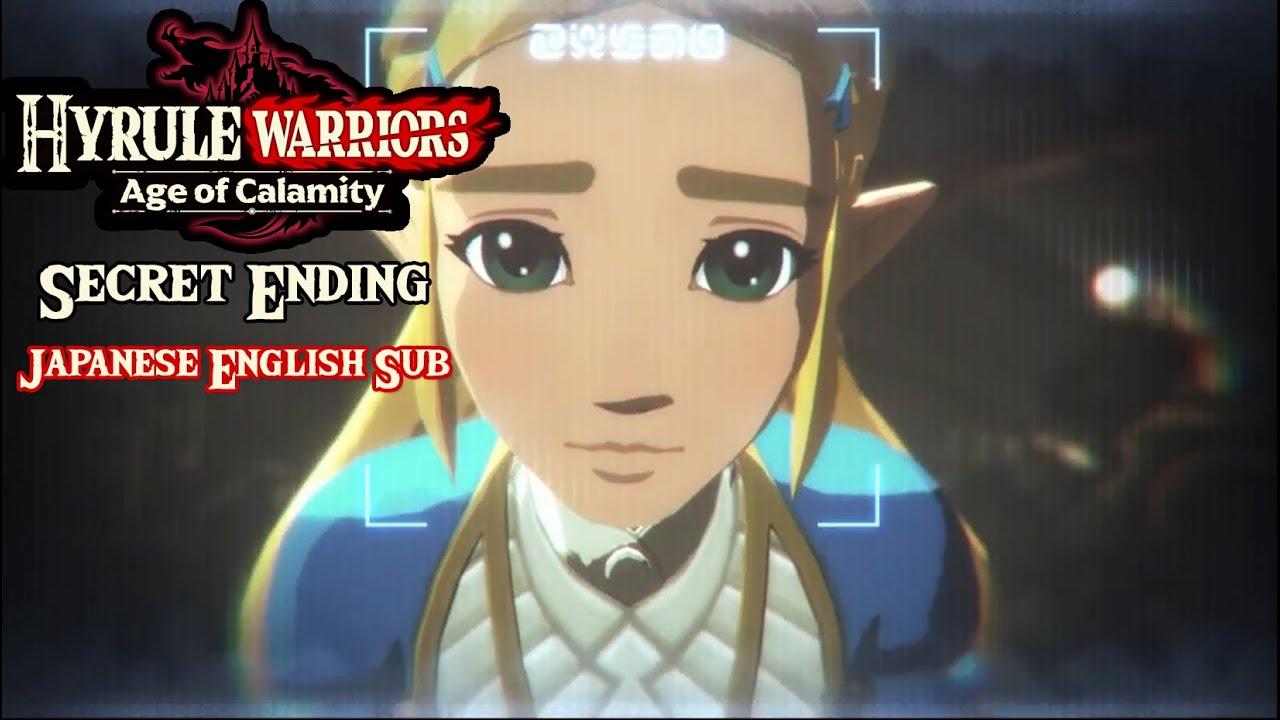 Hyrule Warriors Age Of Calamity Secret Ending Japanese Eng Sub Youtube