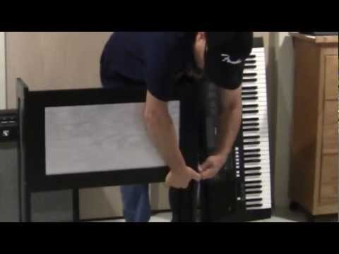 Build This Music Keyboard Stand For Your Yamaha or Other Brand Keyboard