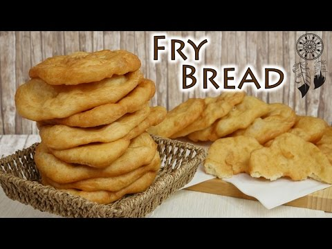 Navajo Fry Bread I Indianisches Brot I Knusprige Brotbeilage