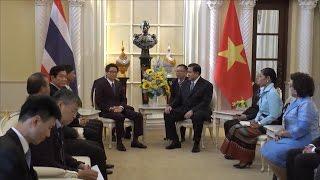 Phó Thủ tướng Vũ Đức Đam thăm chính thức Vương quốc Thái Lan  tin trong nước