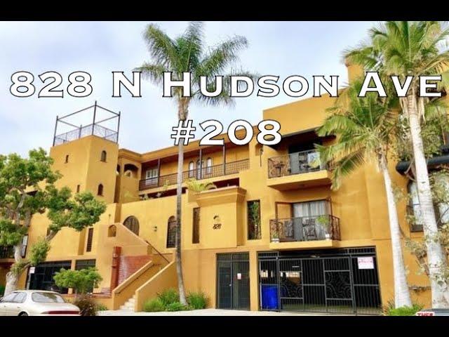 828 N Hudson #208, Los Angeles CA 90038