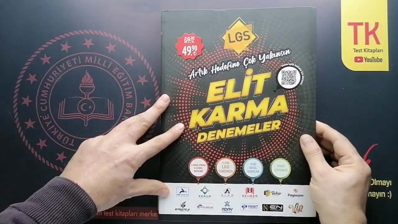 PARAF Yayın Grubu 8.Sınıf LGS Elit Karma Denemeler - Tanıtım Videosu