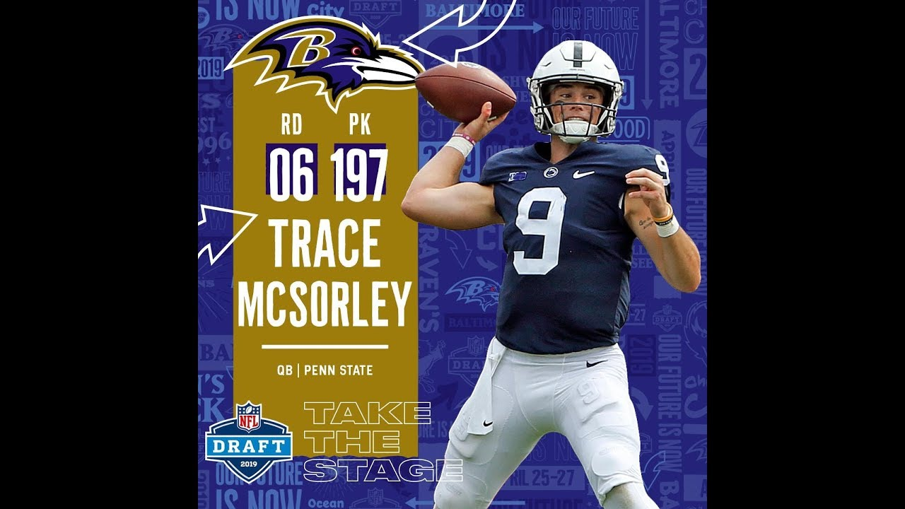Sixth Round (197): Ravens Select QB Trace McSorley