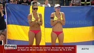 Lille O Beach Volley 2014 : France - Suède (Finale Dames intégrale)