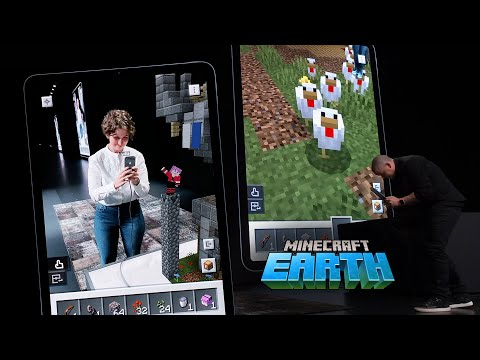 Minecraft Earth : la démonstration en vidéo - Belgium-iPhone