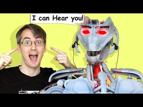 Avengers Ultron #33, Robot Hearing & Sensing | XRobots