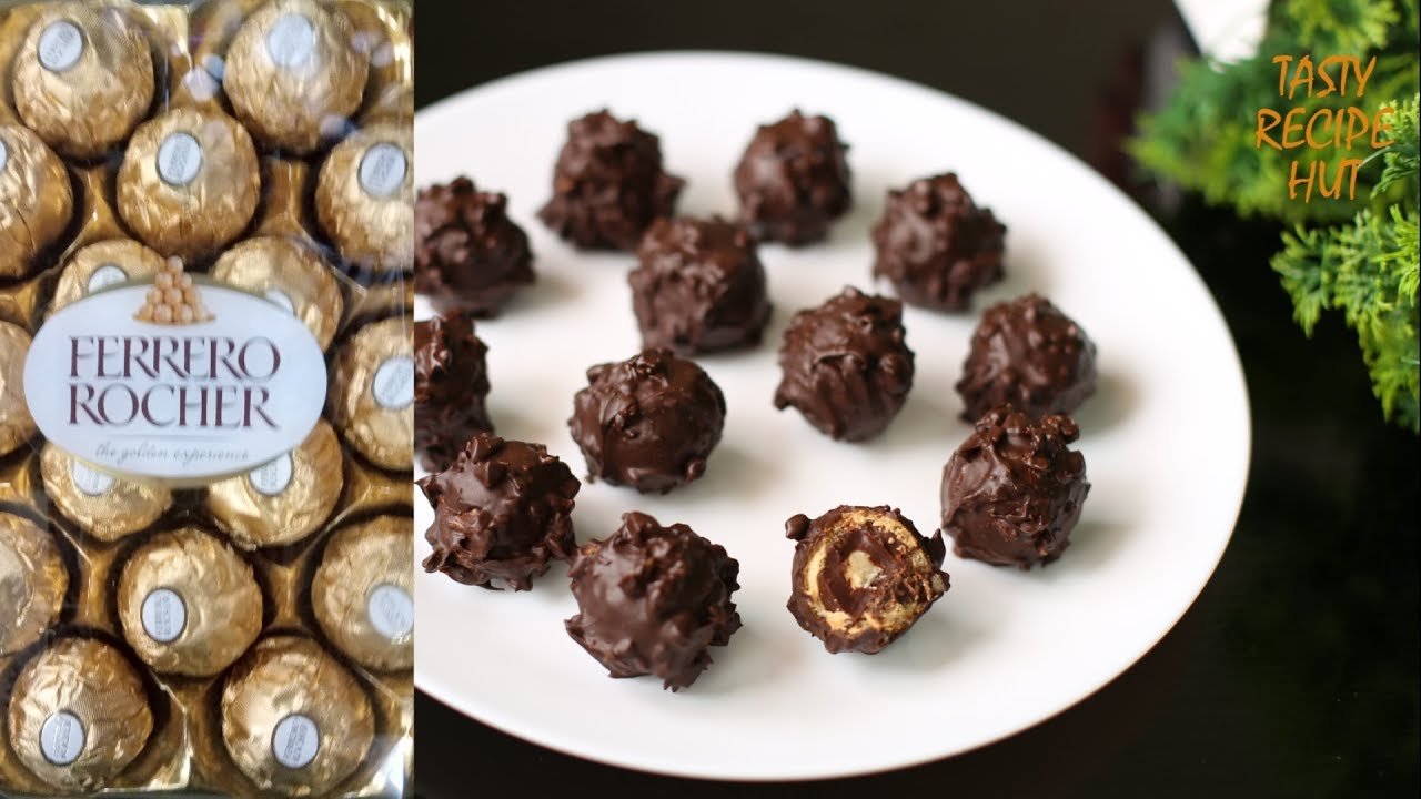 Homemade Ferrero Rocher Chocolate Now You Can Make Your Own Ferrero Rocher At Home Youtube
