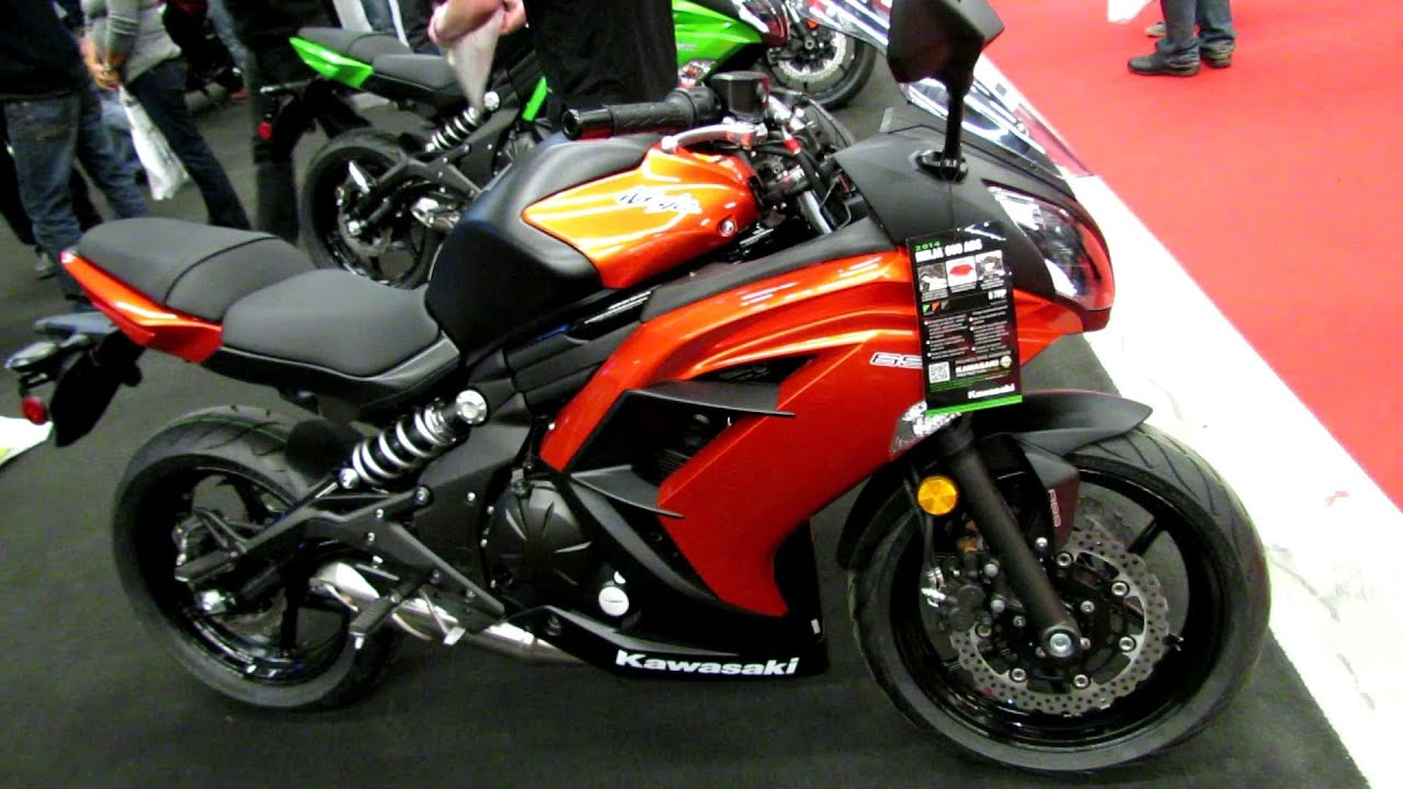 2014 Kawasaki Ninja 650 ABS Walkaround - 2014 Montreal Motorcycle ...