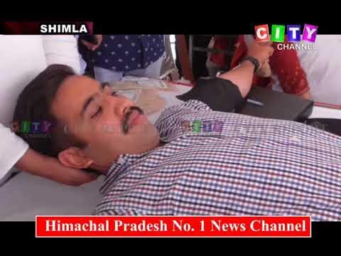 Shimla Rajiv Gandhi Death Anniversary 21 May 2018
