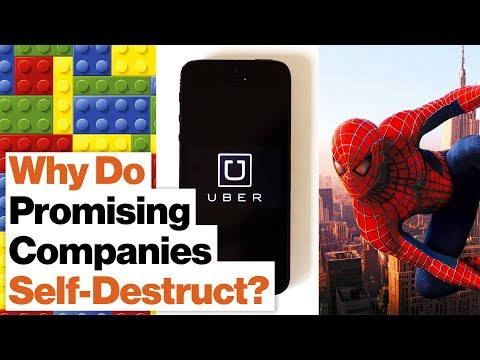 How to Predict a Company Crisis: Uber, Lego, Marvel Comics | Chris Zook