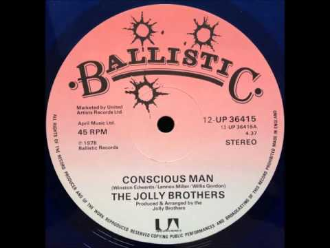 The Jolly Brothers - Conscious Man / Dub