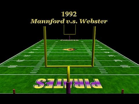 1992 Mannford Pirate Football