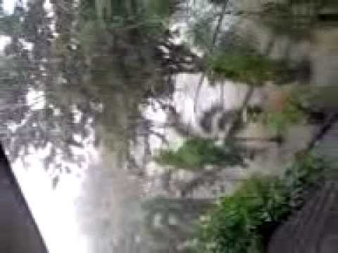 Rain in my school JHS 1 banda aceh
