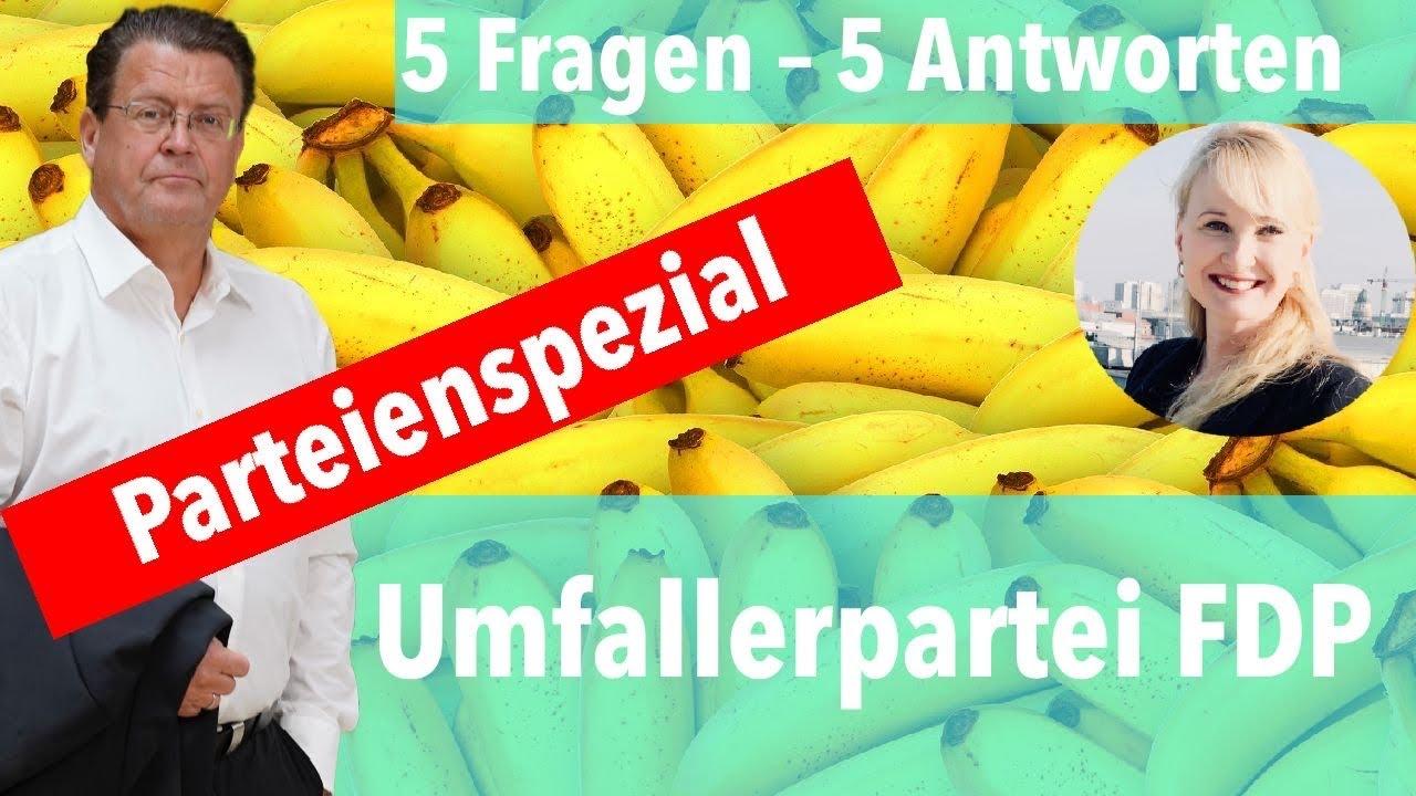 Umfaller-Unterwäschepartei-FDP (5 Fragen - 5 Antworten)