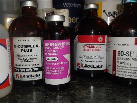 Goat Medications Part 1