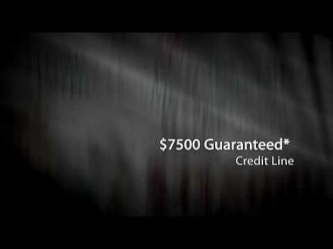 $7500 Guaranteed* Credit Line