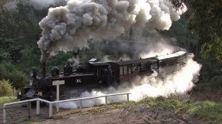 Steam Trains in the Hills - Puffing Billy Railway: Australian Trains