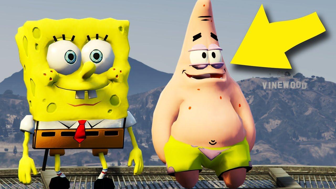 Spongebob And Patrick In Gta
